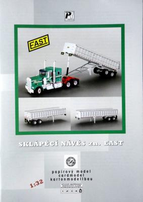 056   *  Sklapeci naves zn.East (1:32)   *  PK  Graphika