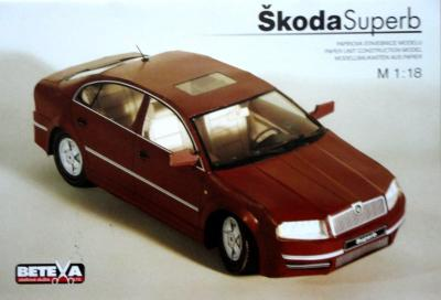 060-5   *   Skoda Super B (1:18)   *   BETEXA