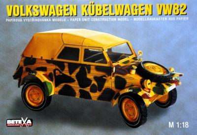 061-6   *  Volkswagen Kubelwagen VW82 (1:18)   *  BETEXA