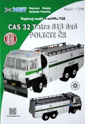 019  *  CAS 32 Tatra 815 6x6 Policie CR (1:32)    *   PMHT