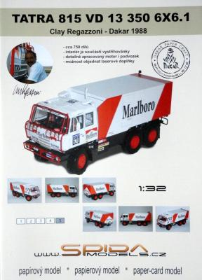 021  *  Tatra 815 VD 13 350 6x6.1 (1:32)   *   SPIDA-DAKAR   620-Marlboro