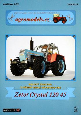 008\12    *   Zetor Crystal 120 45 (1:32)   *  AGRO