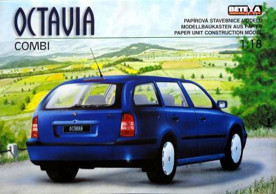058-3    *   Octavia combi  (1:18)    *   BET