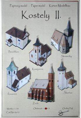 012   *   Kostely II. (1:150)    *   Ondr  Hejl    *    0612