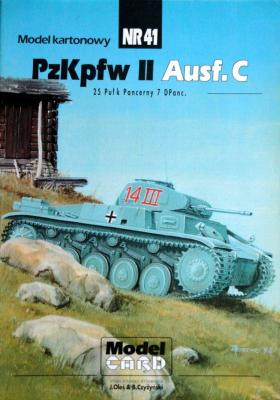 41   *   PzKpfw II Ausf.C 1:25    *   MOD-CAR