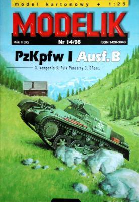 Mod-027   *   14\98    *   PzKpfw I Ausf.B (1:25)
