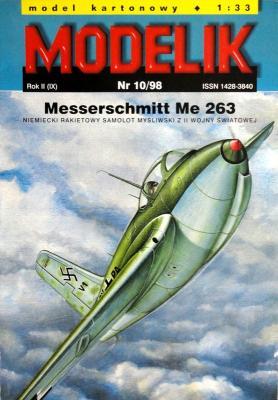 Mod-023   *   10\98   *   Messerschmitt Me 263 (1:33)