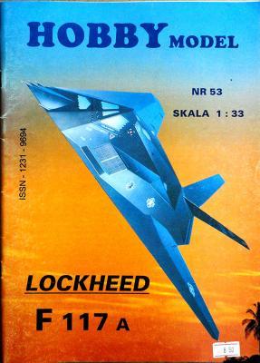 Hob\M-053   *   Lockheed F117A (1:33)