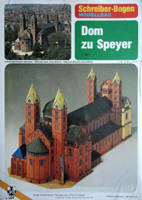 72417   *  Dom zu Speyer  (1:300)    *  S-B