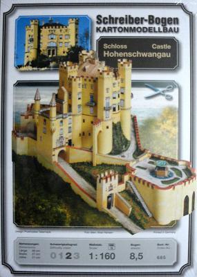 685   *   Castle Hohenschwangau  (1:160)    *  S-B
