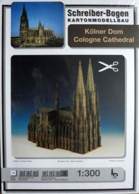 655    *   Cologne Cathedral  (1:300)    *   S-B