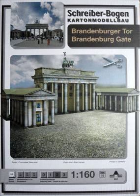 652   *  Brandenburg Gate  (1:160)   *   S-B