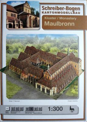 636   *   Monastery Maulbronn  (1:300)    *   S-B