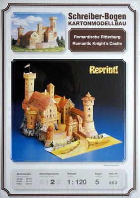 603   *   Romantic Ritterrburg (1:120)   *  S-B