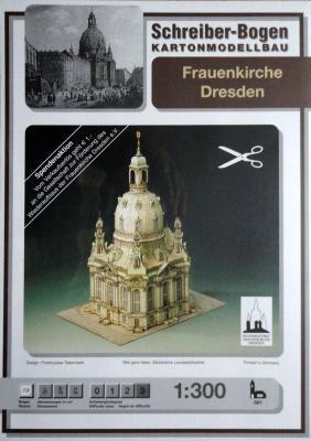 591   *   Frauenkirche dresden  (1:300)   *  S-B