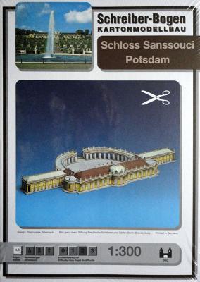 560   *  Schloss Sanssouci Potsdam  (1:300)   *  S-B