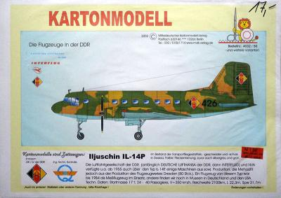 032   *  Iljuschin IL-14P (1:50)   *   MDK