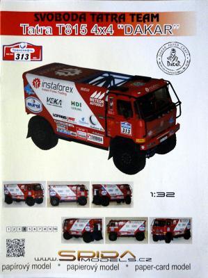 """028    *   Tatra T815 4x4 """"Dakar"""" (1:32)   *   SPIDA-DAKAR 313"""
