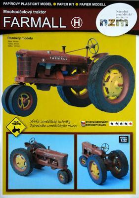 001  *   Mnohoucelovy traktor Farmall (1:32)   *   NZM