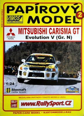 002    *  Mitsubishi carisma GT Evolution V (Gr.N) (1:24)  *  VIMOS