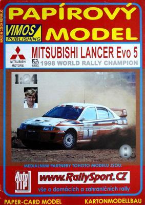 001  *  Mitsubishi Lancer Evo 5 (1:24)   *  VIMOS