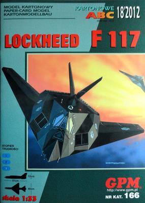 GP-316   *   18\12\166   *   Lockheed F117 (1:33)