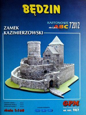 987   *   7\12    *   Bedzin - Zamek Kazimierzowski (1:160)    *    GPM-ARH