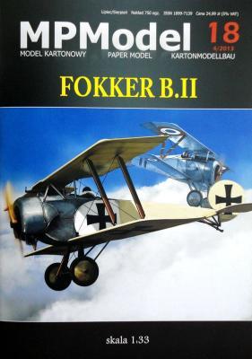 18    *   Fokker B.II (1:33)    *   MP