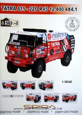 030    *   Tatra 815-2ZO R45 12.400 4x4.1 (1:32)   *   SPIDA-DAKAR 503