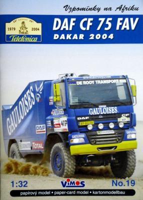 019    *   DAF CF 75 FAV Dakar 2004 (1:32)    *    VIMOS