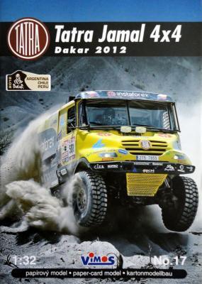 017    *   Tatra Jamal 4x4 Dakar 2012 (1:32)    *    VIMOS