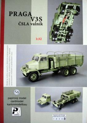054    *   Praga V3S CSLA valnik (1:32)    *   PK  Graphika