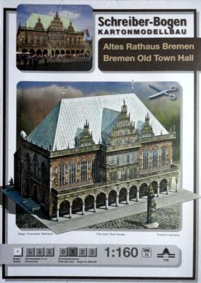720   *   Bremen Old Town Hall (1:160)   *   S-B