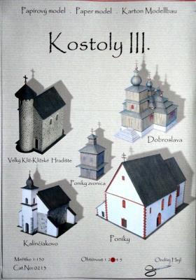 005   *   Kostoly III. (1:150)    *   Ondr Hejl   *   213