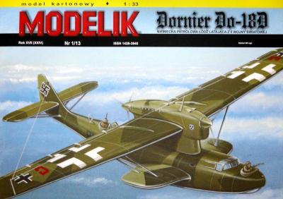 MOD-337   *   1/13    *   Dornier Do-18D (1:33)
