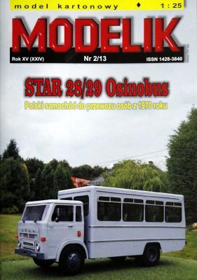 MOD-338   *   2/13   *  Star 28/29 Osinobus (1:25)
