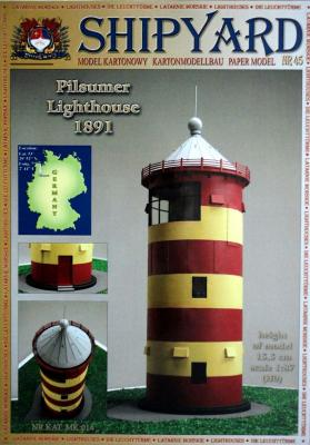 Pilsumer Lighthouse 1891 (1:87)    *    SHIP    *    45