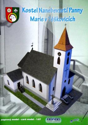 005    *   Kostel Nanebevzeti Panny Marie v Teskovicich (1:87)    *   Z-ART
