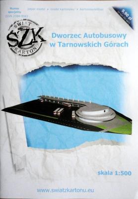 Spec W    *    Dworzec Autobusowy w Tarnowskich Gorach (1:500)    *   SzK