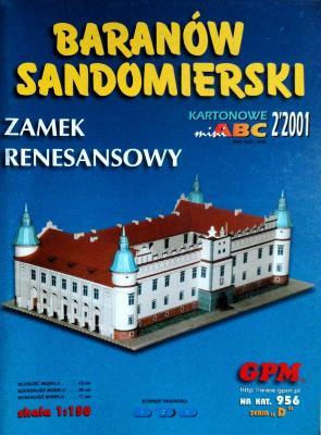 956  *  02\01  *  Baranow Sandomierski - Zamek renesansowy (1:150)  *  GPM-ARH