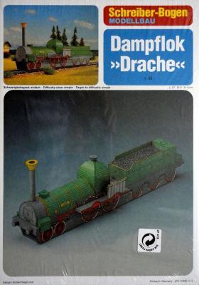 "72480  *  Dampflok ""Drache"" (1:45)  *  S-B"