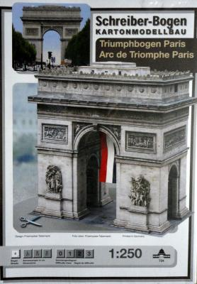 724  *  Arc de Triomphe Paris (1:250)  *  S-B