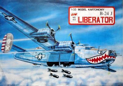 048  *  Liberator B-24 J (1:33)   *  GPM-ct