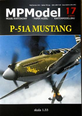 17   *    P-51A Mustang (1:33)    *   MP
