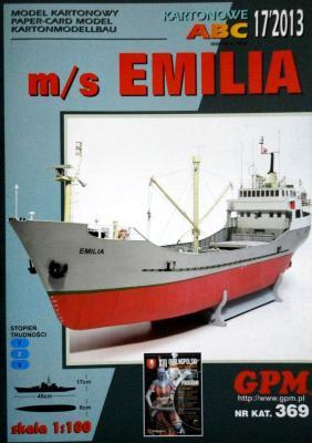 GP-354 *  17\13\369   *  m/s Emilia (1:100)
