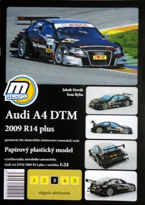 015    *  Audi A4 DTM 2009 R14 plus (1:24)   *   MEGA