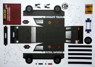 Patrol Saperski    *   WEKTOR  MINI