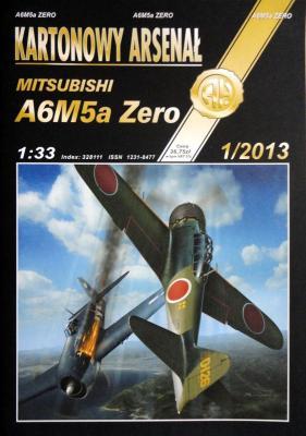80   *  1\13   *   Mitsubishi A6M5a Zero (1:33)    *   HAL