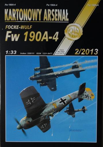81  *  2\13   *   Focke-Wulf  FW  190A-4 (1:33)   *   HAL