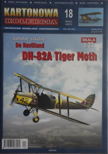 018  *  4\13   *   DH-82A  Tiger Moth (1:33)  *  KART-KOL